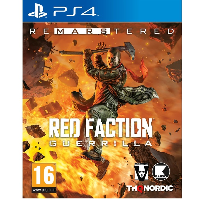 Игра за конзола Red Faction Guerrilla Re-Mars-tered, за PS4 image