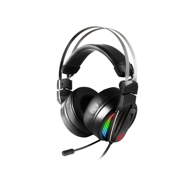 Слушалки MSI Immerse GH70, микрофон, честотен диапазон- 20 Hz ~ 40 kHZ, RGB подсветка, черни image