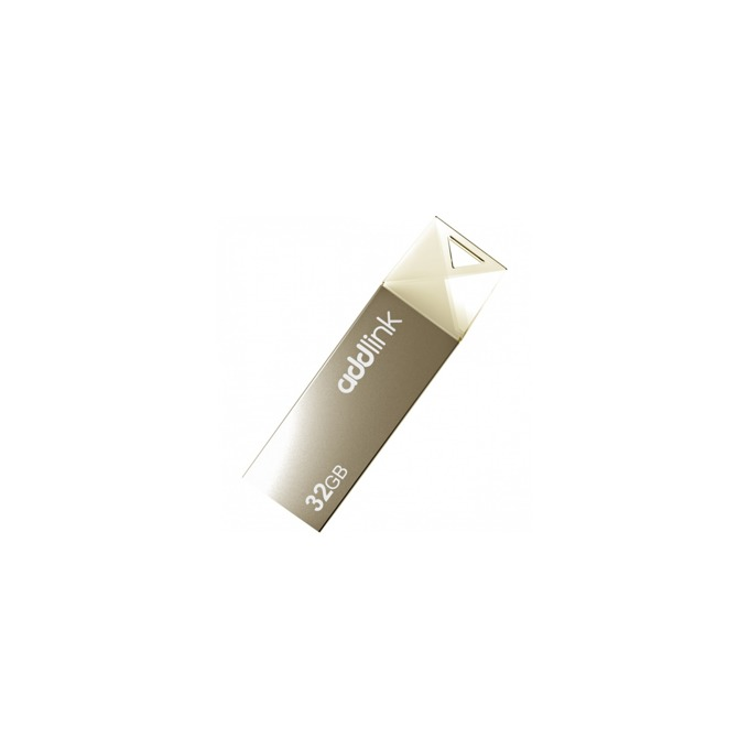 Памет 32GB USB Flash Drive, Addlink U10, USB 2.0, златиста image