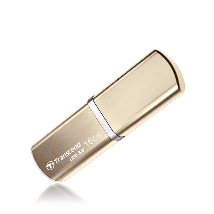 16GB USB Flash Drive, Transcend JetFlash 820, USB 3.0, златиста image