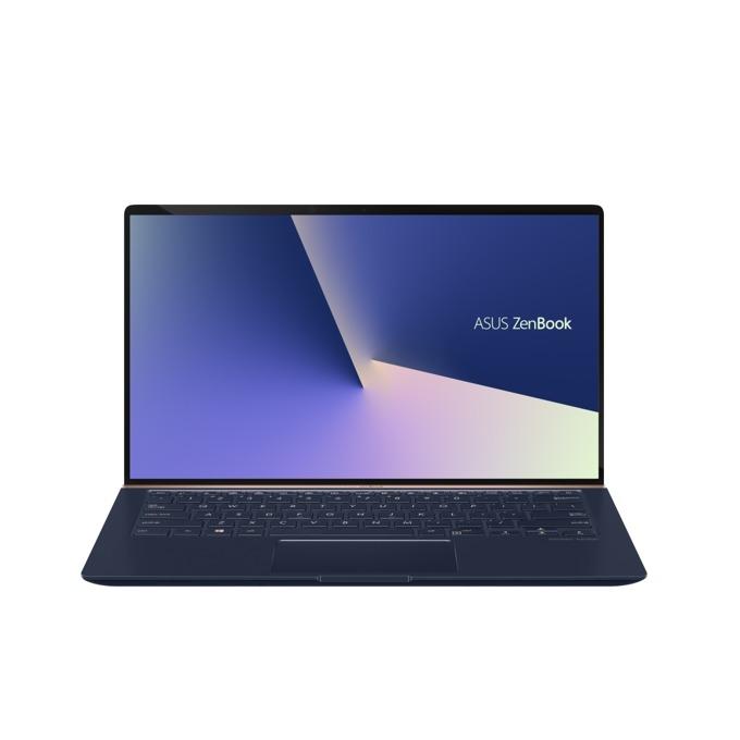 "Лаптоп Asus UX433FA-A5075R (90NB0JR1-M03160)(син), четириядрен Whiskey Lake Intel Core i7-8565U 1.8/4.6 GHz, 14.0"" (35.56 cm) Full HD Anti-Glare Display, (HDMI), 8GB, 256GB SSD, 1x USB 3.1 Type C, Windows 10, 1.09 kg image"