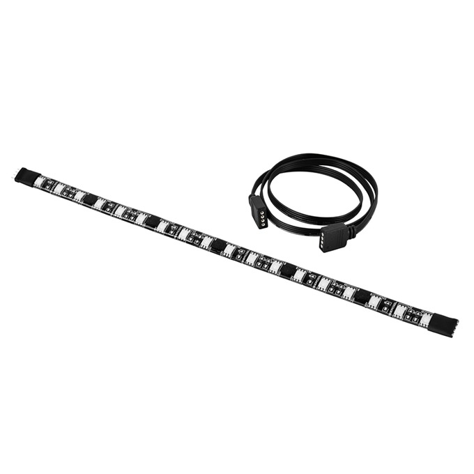 Осветителна LED лента Deepcool 100 Plus, RGB, 18pcs, 30 cm image