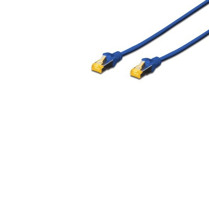 Пач кабел Assmann, SFTP, Cat.6A, 3m, син image