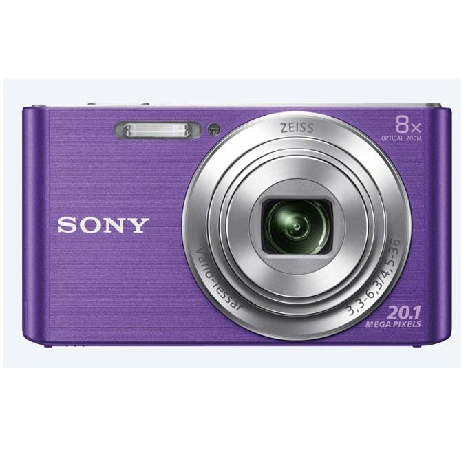 "Sony Cyber Shot DSC-W830 (виолетов), 8xOptical zoom, 20.1Mpix, 2.7"" (6.86cm) екран, SDHC/SDXC, USB image"