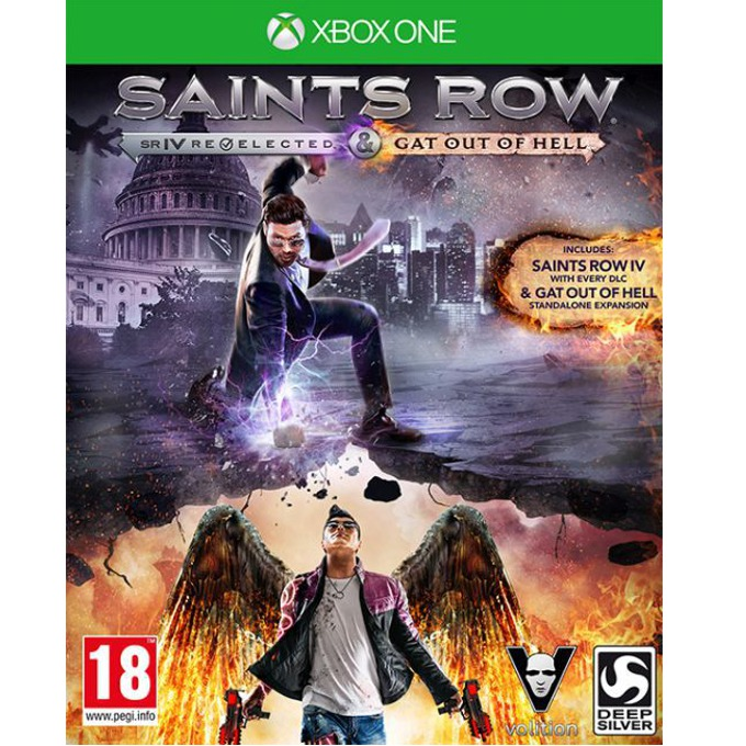 Saints Row IV: Re-Elected + Saints Row: Gat Оut of Hell, за XBOX ONE image