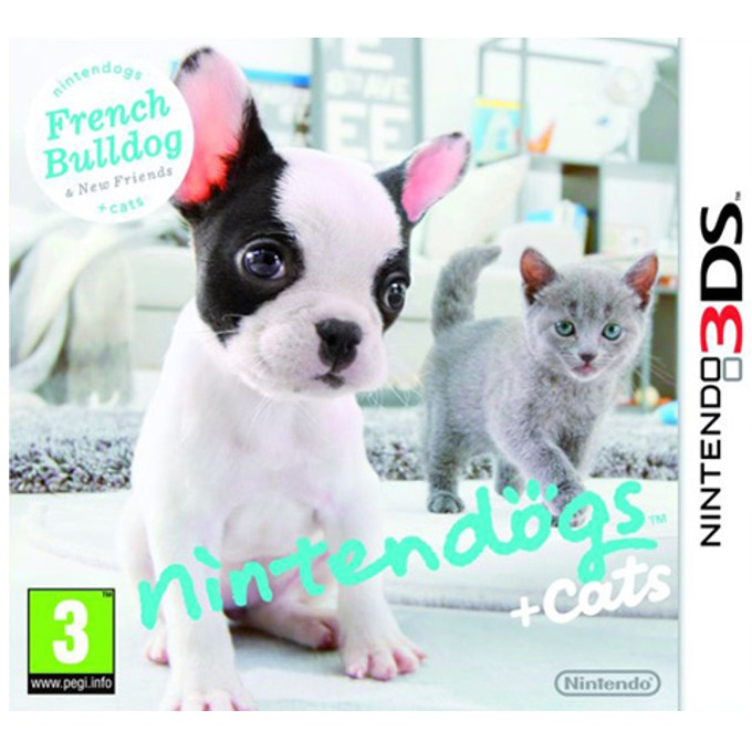 Nintendogs + Cats: French Bulldog & New Friends, за 3DS image