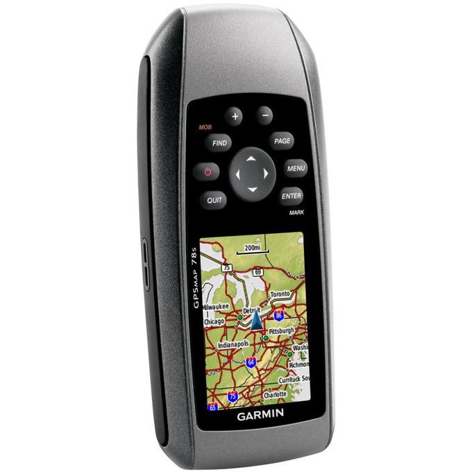 Ръчна навигация GARMIN GPSMAP® 78s BG, водоустойчива, алтиметър, електронен компас, цветен сензорен дисплей, microSD слот, подробна карта на България (+off-road) и Световна базова карта image