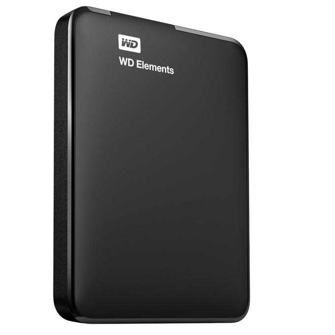 """Твърд диск 1TB WD Elements, външен, 2.5"""" (6.35 cm), USB3.0 image"""