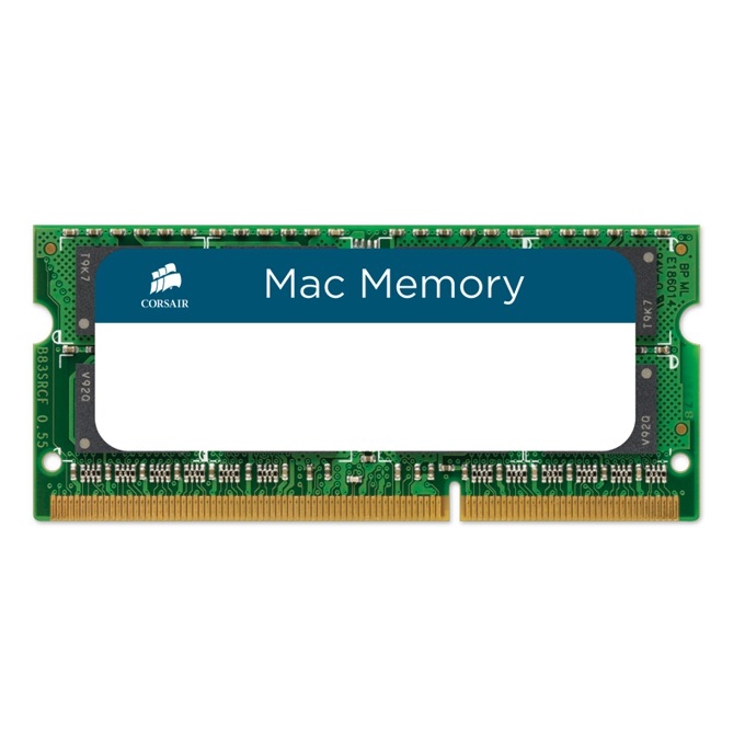 Памет 16GB (2x8GB) DDR3L 1600MHz, SO-DIMM, Corsair Mac CMSA16GX3M2A1600C11, 1.35V, Apple Qualified image