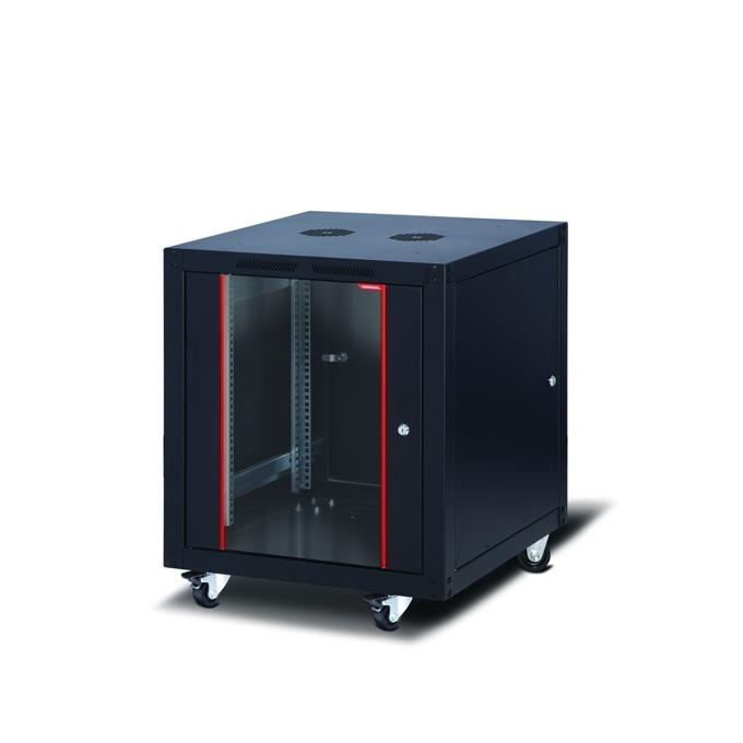"""Комуникационен шкаф Formrack SLV-12U60100/BTA-12U60100, 19"""", 12U, 600 x 1000 mm, черен image"""
