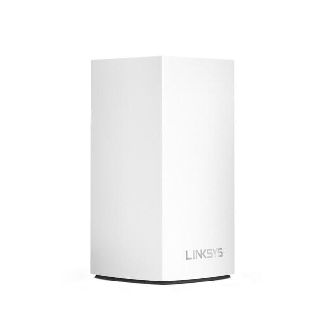 Wi-Fi система(1x бр.) Linksys Velop Intelligent Mesh WHW0101, 1300Mbps, 2.4GHz(400Mbps)/5GHz(867Mbps), Wireless AC, 1x LAN1000, 1x WAN1000, 3x вътрешни антени, 256MB Flash памет, 256MB RAM, Bluetooth 4.0 image