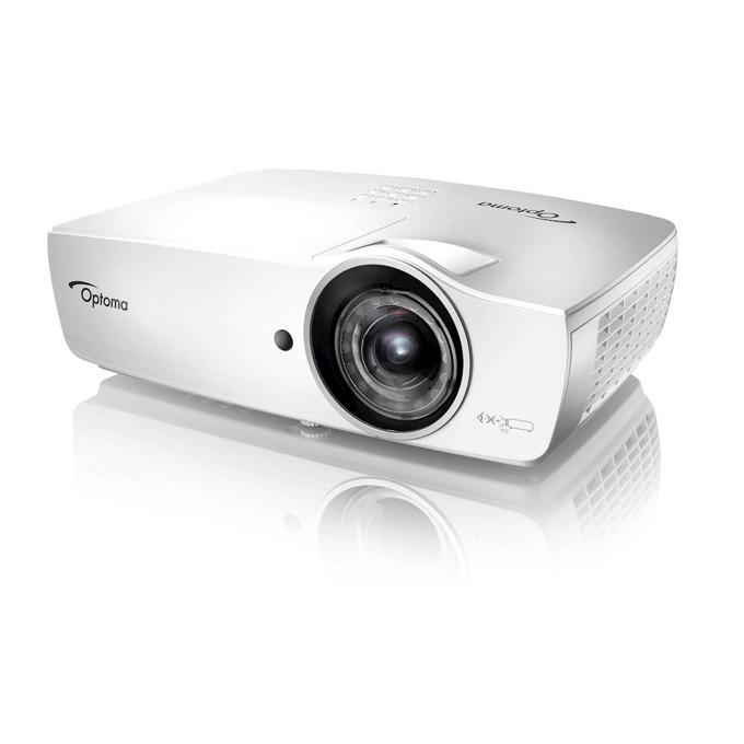 Проектор Optoma W460ST, 3D, DLP, WXGA(1280x800), 20,000:1, 4200lm, 2x HDMI, VGA, USB, RJ-45, RS232C image