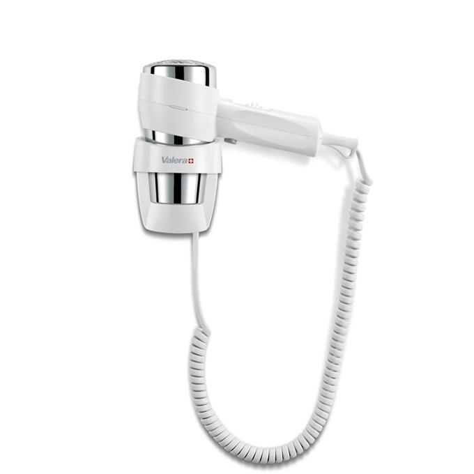 Сешоар Valera 542.06/038A Action Super Plus White, 1600W, 3 скорости, 1600W, бутон за студен въздух, концентратор, стойка за стена с автоматично изключване, бял image