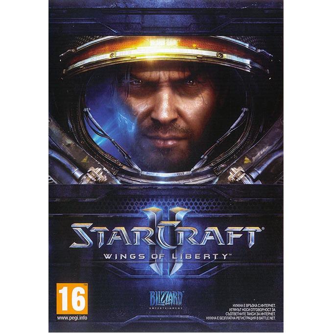 Игра StarCraft II Wings of Liberty, за PC image