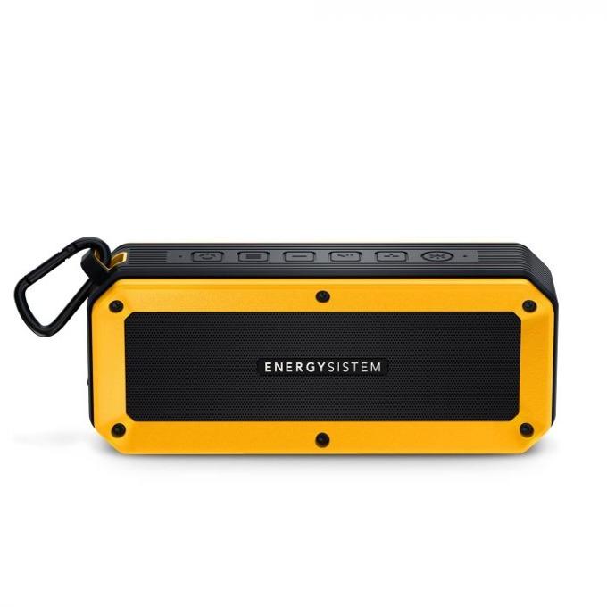 Тонколона Energy Outdoor Box Bike, 2.0, Bluetooth до 16 часа време за работа, жълта ,микрофон, LED светлина image