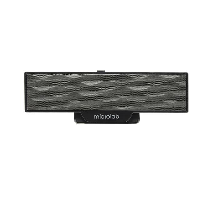 Тонколона Microlab B51, 2.0, 4W, аудио жак 3.5mm, черна  image