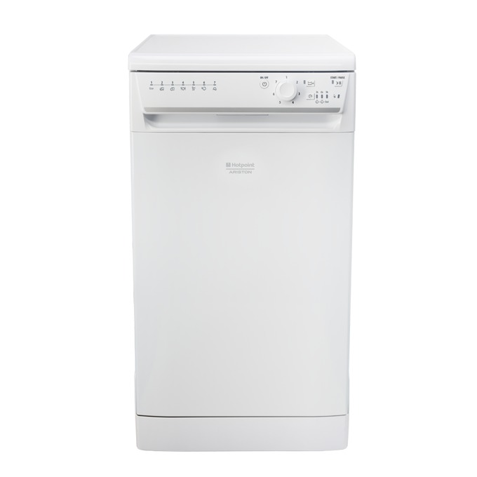 Съдомиялна Hotpoint-Ariston LSFB7B019EU, клас А+, 10 комплекта, 7 програми, бяла  image