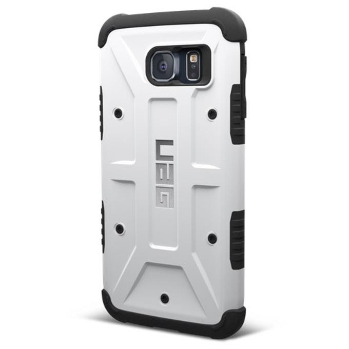 Поликарбонатов протектор Urban Armor Scout за Samsung Galaxy S6 (бял), удароустойчив image