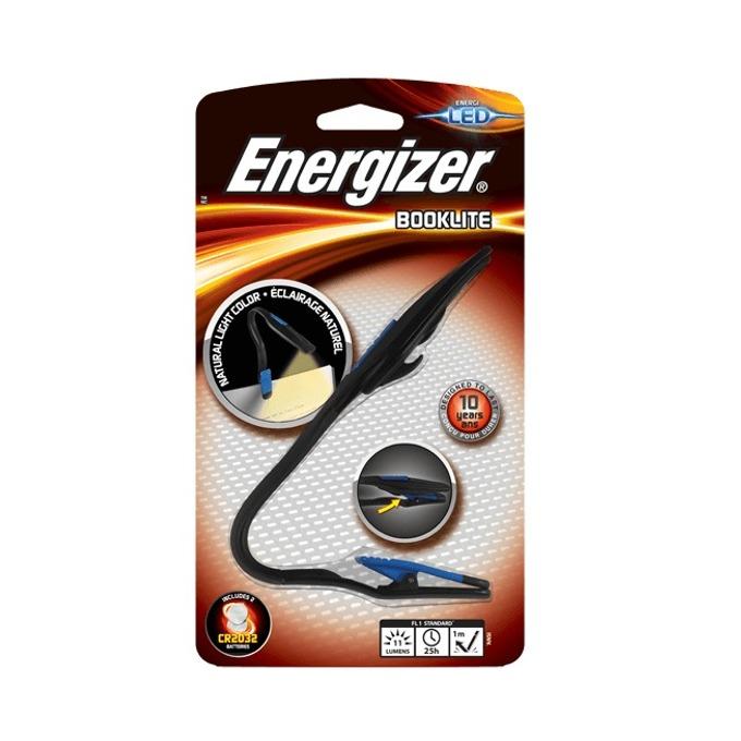 Портативна лампа Energizer LED Clip Light, с щипка, удобна за книги, 11 lm, до 25 часа време за работа, осветяване до 4м image