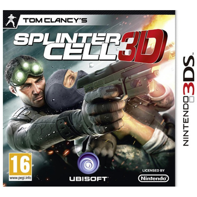 Tom Clancy's Splinter Cell 3D, за 3DS image