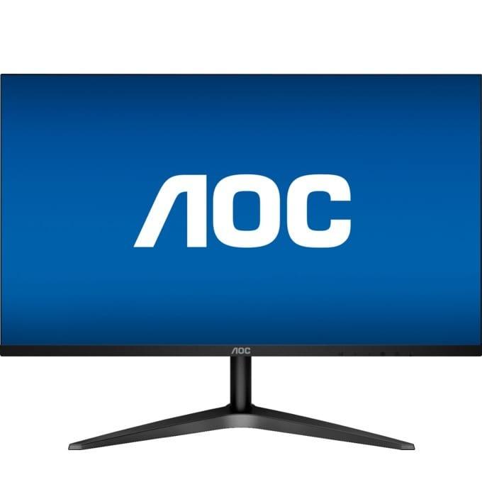 """Монитор AOC 24B1H, 23.6""""(59.94 cm), MVA WLED панел, Full HD, 8 ms, 50000000:1, 250 cd/m², HDMI, VGA image"""
