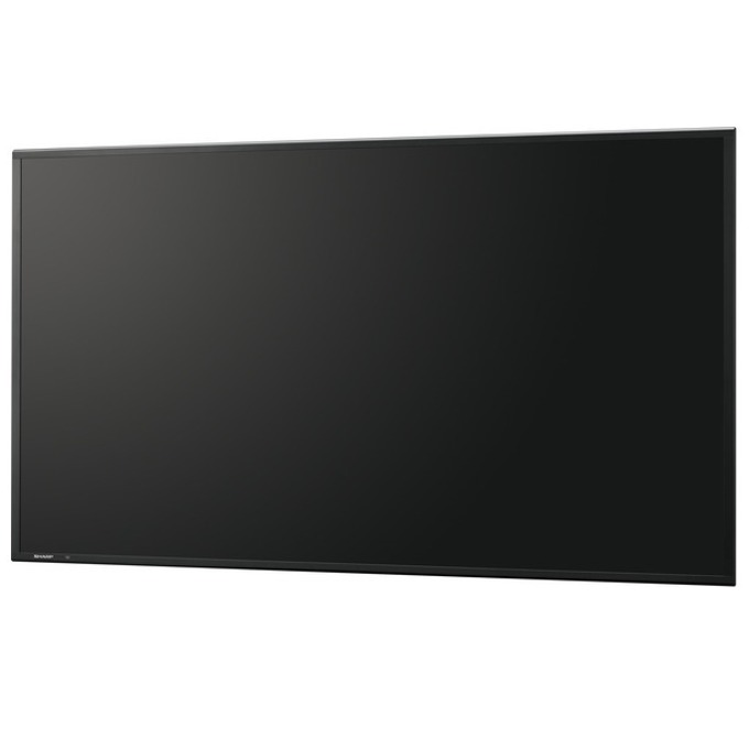 "Публичен дисплей SHARP PN-R703, 70"" (177.8 cm) Full HD, VGA, DVI, DisplayPort, HDMI image"
