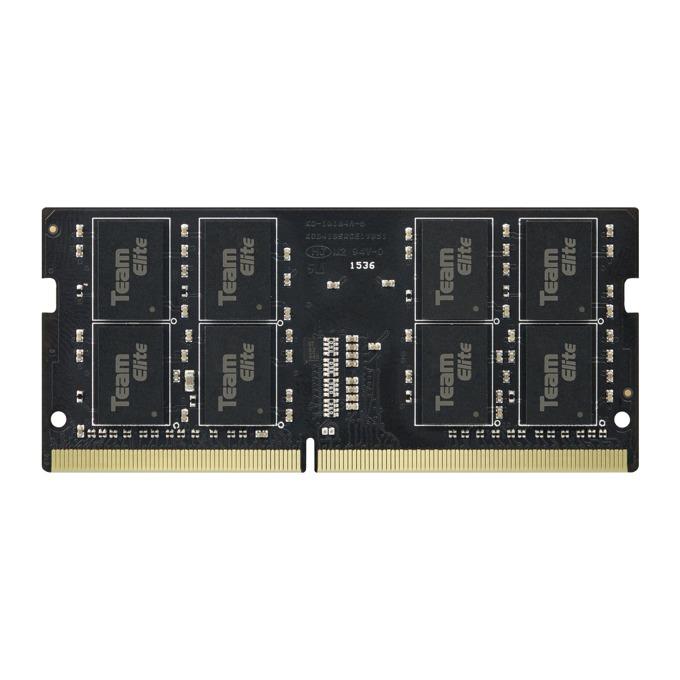 Памет 4GB 2666MHz, SO-DIMM, Team Group Elite TED44G2666C19-S01, 1.2V image