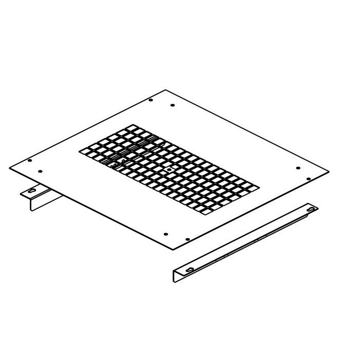Frame for installation of DP-VEN-02