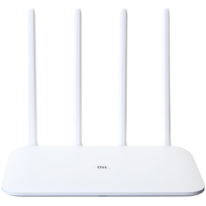 Рутер Xiaomi Mi Router 4A, 1167Mbps, 2.4GHz (300 Mbps), 5GHz (867 Mbps), Wireless AC, 2x LAN ports 10/100bps, 1x WAN port 10/100Mbps, 4 външни антени image