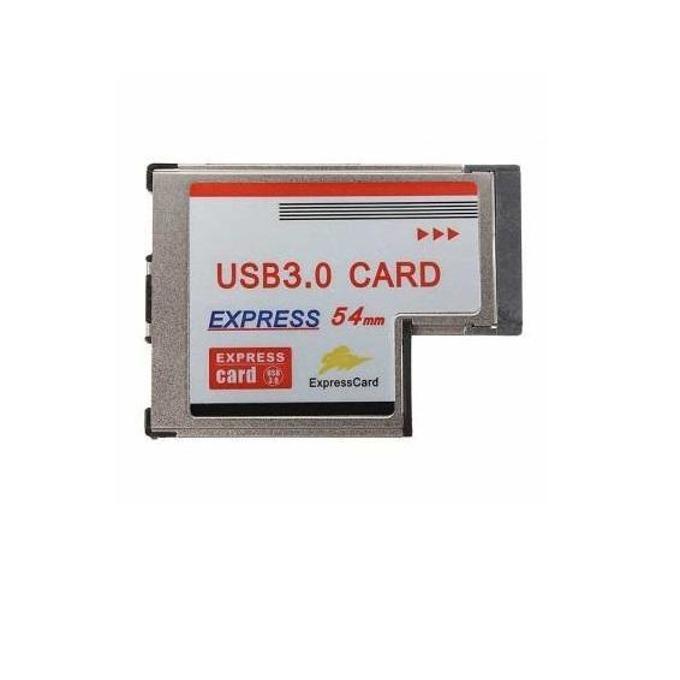 Адаптер ESTILLO ExpressCard 54mm към 2x USB 3.0 image