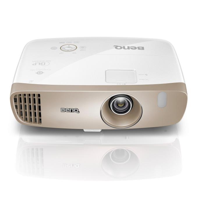 Проектор BenQ W2000, DLP 3D Ready, Full HD (1920 x 1080), 15000:1, 2000 ANSI Lumens, Chamber Speaker 10W x 2, D-Sub, Composite Video, HDMI, MHL, USB, RS232 image