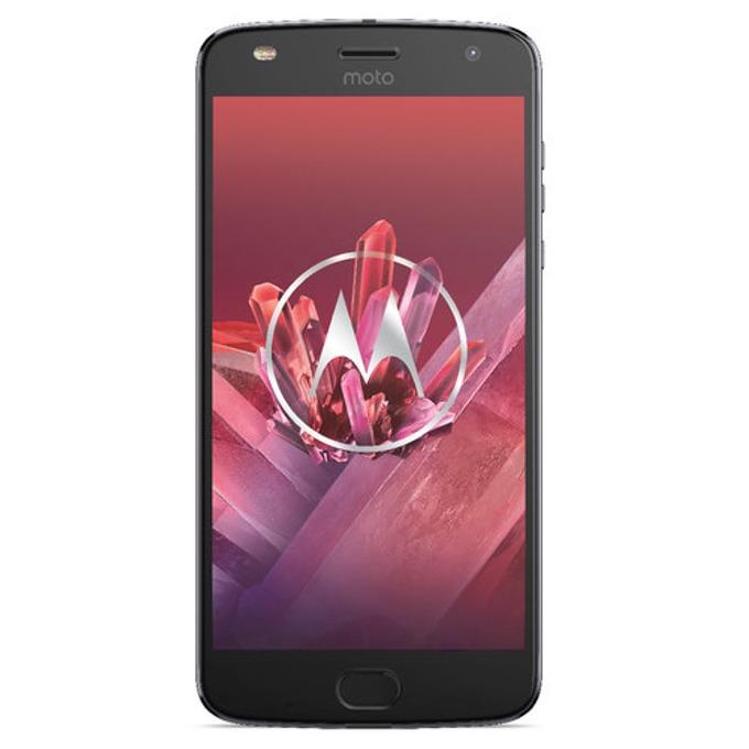 "Motorola Moto Z2 Play (сив), поддържа 2 sim карти, 5.5"" (13.97 cm) Full HD Super AMOLED дисплей, осемядрен Snapdragon 626 2.2 GHz, 4GB RAM, 64GB Flash памет(+microSD слот), 5.0 & 2.0, Mpix camera, Android, 145g image"