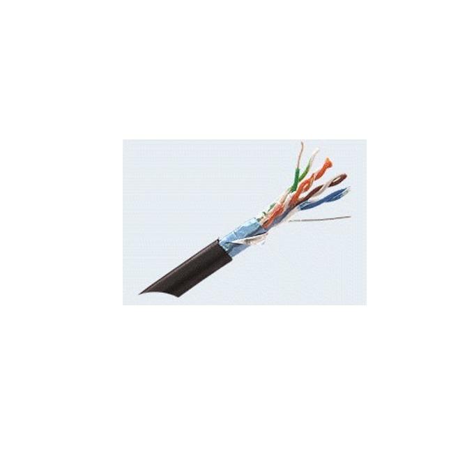 Кабел ACnetPLUS FTP Solid 24AWG, FTP, Cat 5e, ролка 500m, черен image