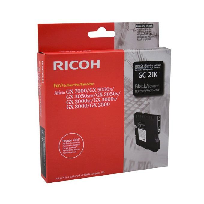 ГЛАВА ЗА RICOH GX 3000/3050N/5050N - Black - Type GC21K - P№ 405532 image