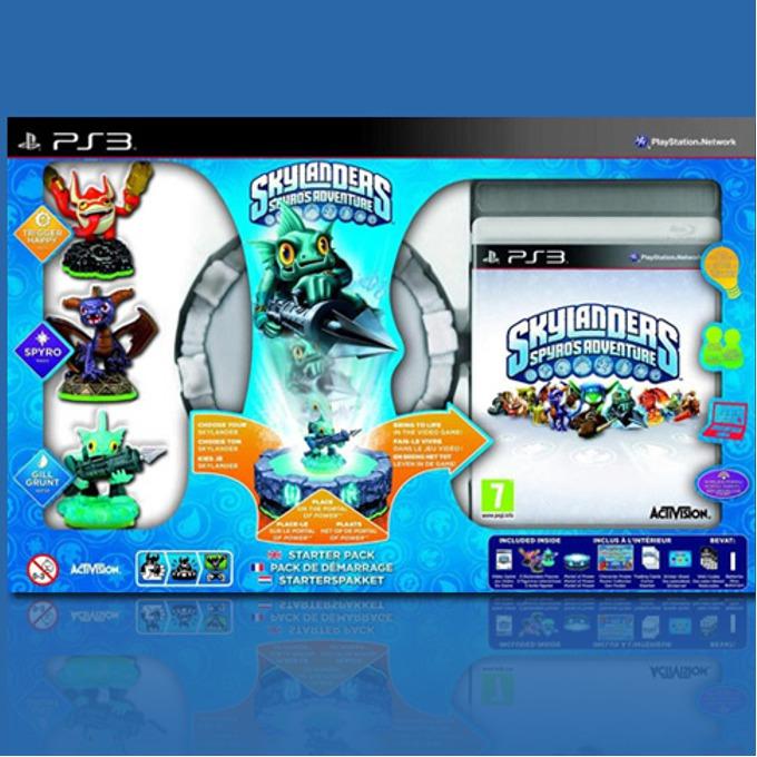 Игра за конзола Skylanders: Spyros Adventure Starter Pack, за PlayStation 3 image
