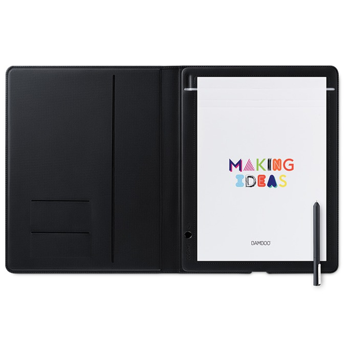 Смарт бележник Wacom Bamboo Folio Small (тъмно сив)(CDS-610G) image