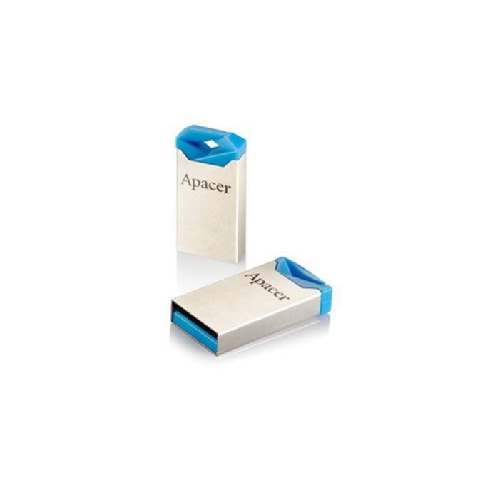 8GB USB Flash Drive, Apacer AH111, USB 2.0, синя image