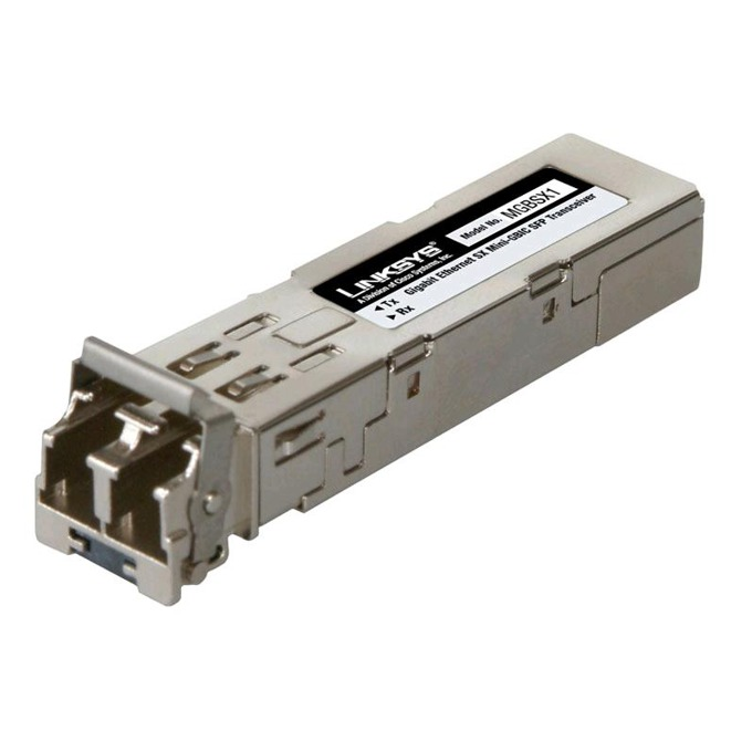 SFP модул Cisco MGBSX1, LC connector, 1Gbps, до 550м, multi-mode image