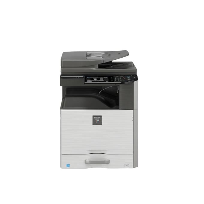 Мултифункционално лазерно устройство Sharp DX-2500N, цветен, принтер/копир/скенер/факс, 600 x 600 dpi, 25 стр/мин., LAN 1000, USB, A3 image