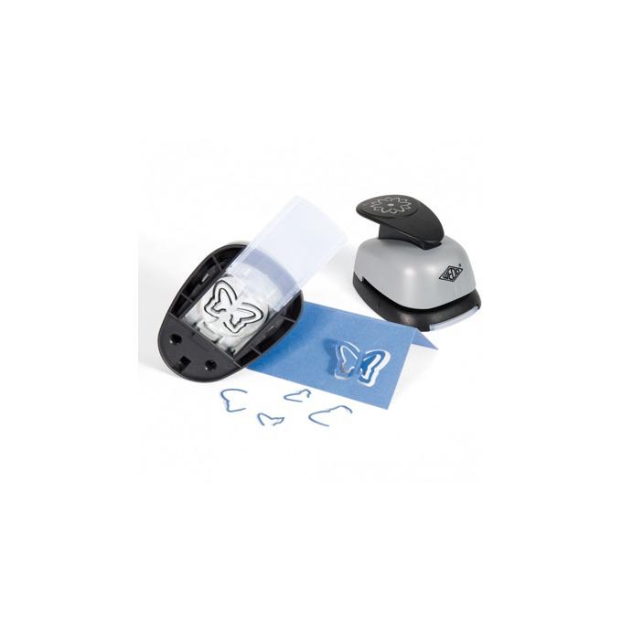 Перфоратор Wedo Pop-up, декоративен, с фигура на сърце, сив image