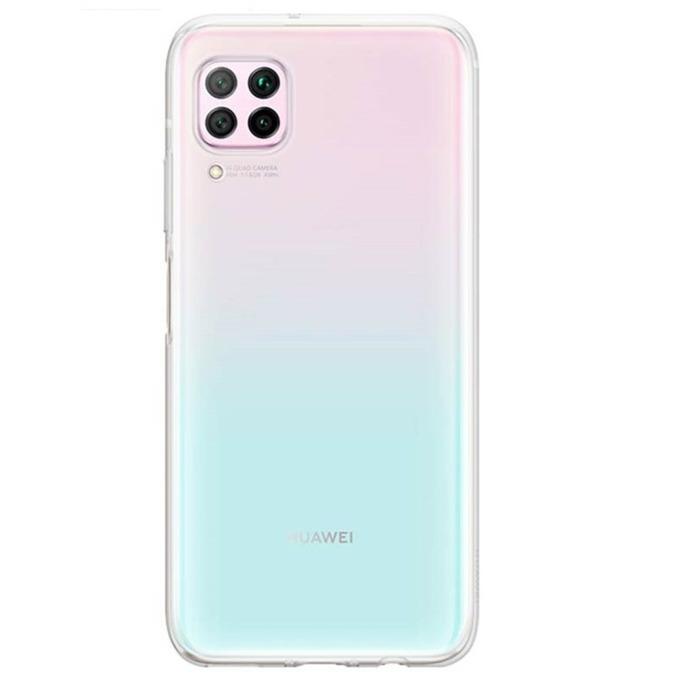 Калъф за Huawei P40 Lite, термополиуретанов, Huawei Flexible Clear (51993984), прозрачен image