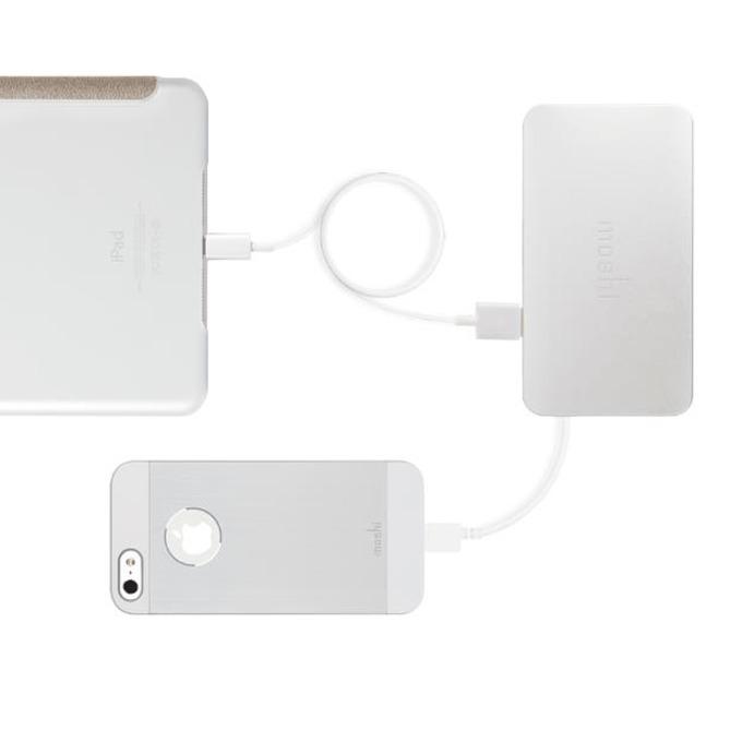 Външна батерия/power bank/ Moshi IonBank 5K 5000 mAh, бял image