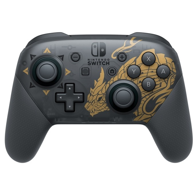 Nintendo Switch Pro Controller: MH Rise Edition product