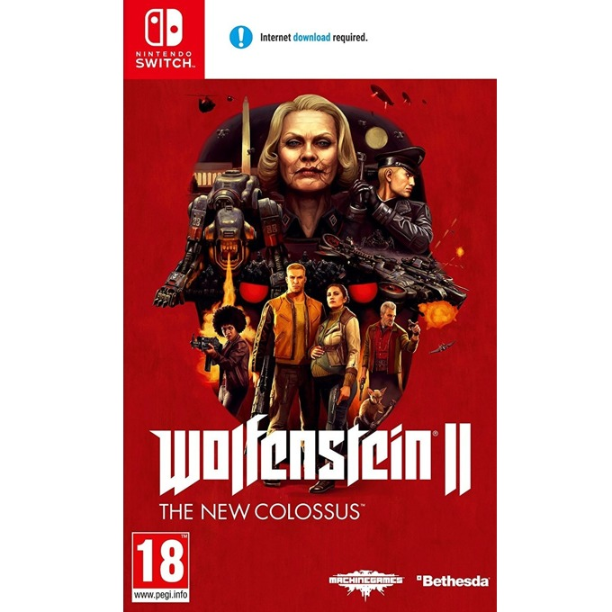 Игра за конзола Wolfenstein 2 The New Colossus, за Nintendo Switch image