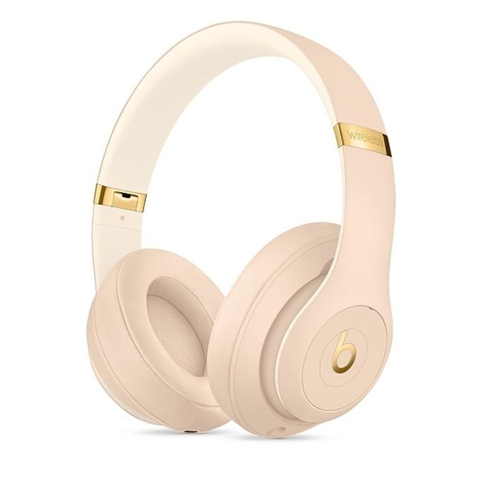 Слушалки Beats Studio3 Wireless Skyline Collection, Bluetooth, микрофон, до 40 часа работа, ANC, златисти image