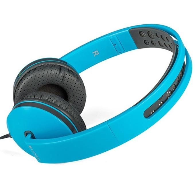 Слушалки Logic MH-7, микрофон, сини image