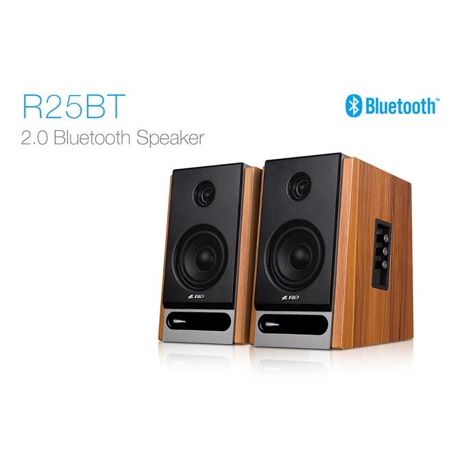 Тонколони Fenda R25BT, 2.0, 44W (22W + 22W), Bluetooth 4.0, NFC, RCA, кафеви image