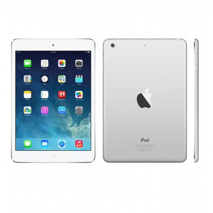 "Таблет Apple iPad Air (MD788HC/A)(сребрист), 9.7"" (24.64 cm) Retina дисплей, двуядрен Apple A7 1.3 GHz, 1GB RAM, 16GB Flash памет, 5.0 & 1.2 Mpix камера, iOS, 478g image"