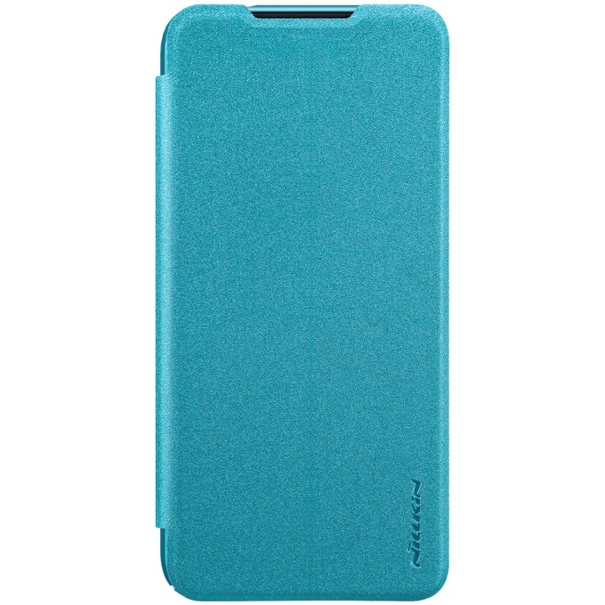 Калъф за Xiaomi Redmi 7, еко кожа, Nillkin Sparkle, тип портфейл, син image