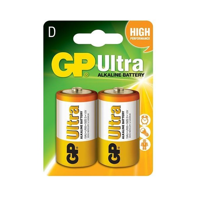 Батерии алкални GP Digital, D, 1.5V, 2бр. image